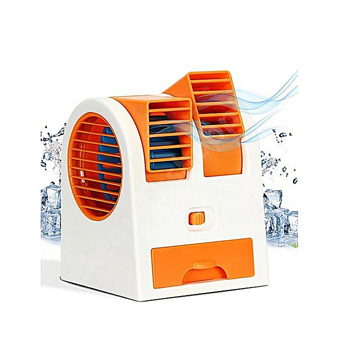 Mini Fan Air Conditioning Double Window Fan