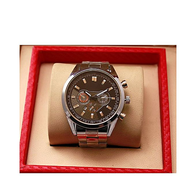 Aybeez Stainless Steel Watch For Men