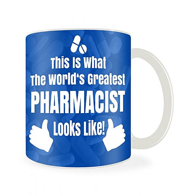 Unique Pharmacy Mug - Blue