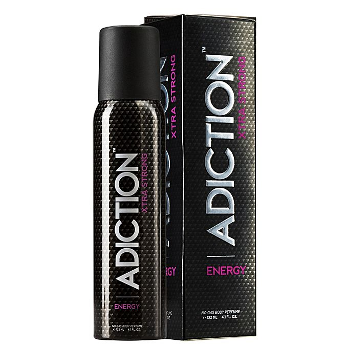 Adiction Xtra Strong Energy Perfume Body Spray For Men - 122ml