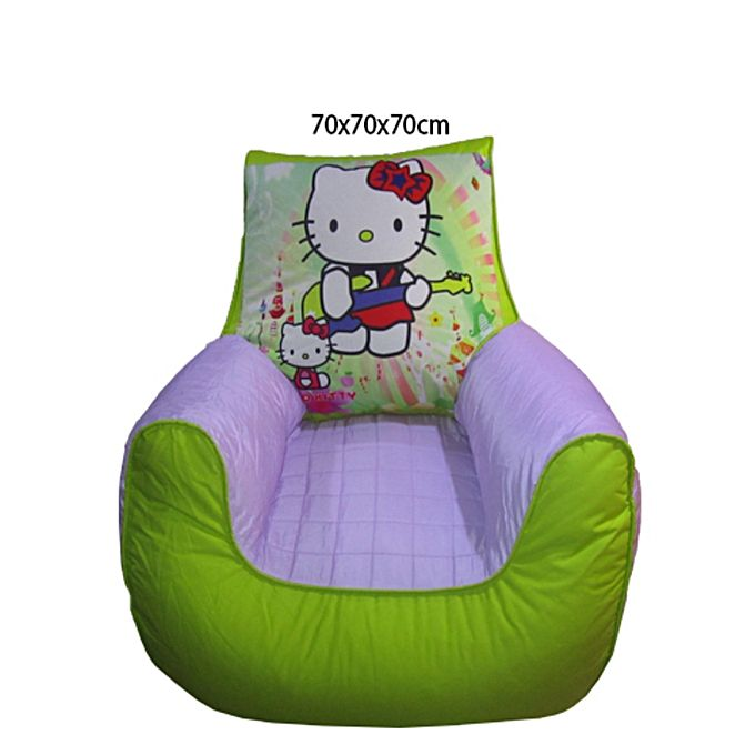 Hello Kitty Bean Bag Sofa for Kids - Green