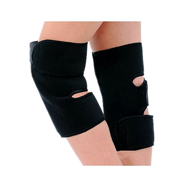Knee Hot Pads - Black