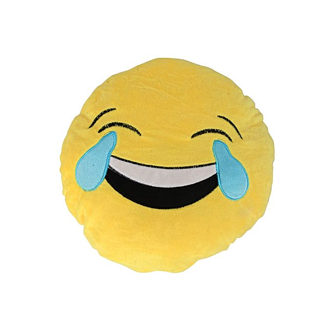 Emoji Joy Face Cushion