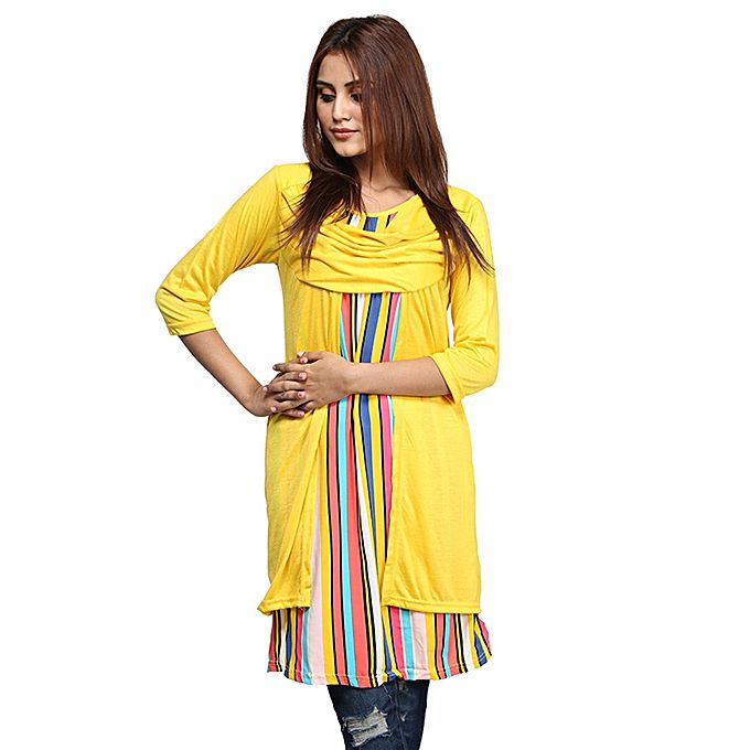 Yellow Top For Women