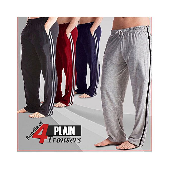 Pack of 4 Sports Trousers For Men - ABZ-2926