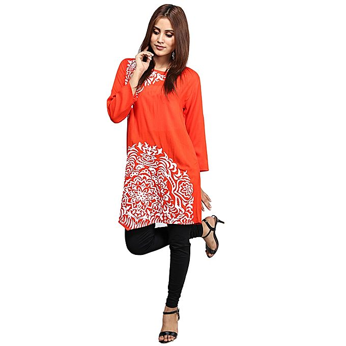 Aybeez Printed Kurti For Women