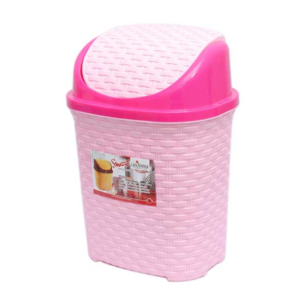 Stylish Plastic Dustbin With Cover