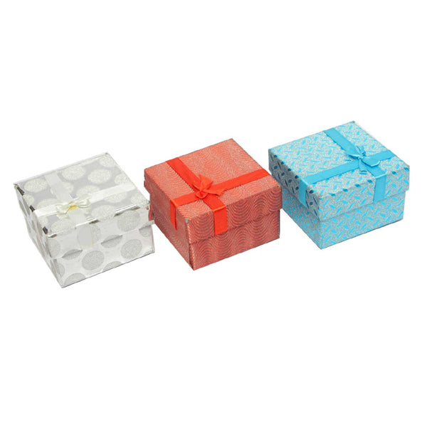 Pack of 3 - Gift Boxes - Multicolor