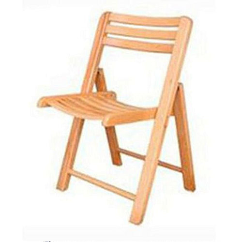 Meer's Interior Wooden Folding Chair-Beech