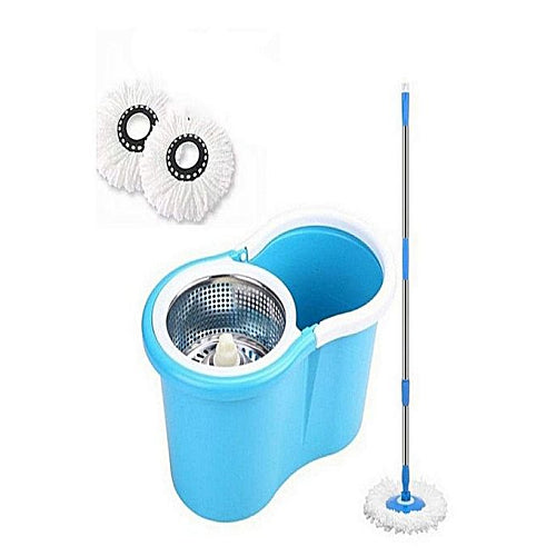 Easy life 360 Spin Mop With Steel Bucket