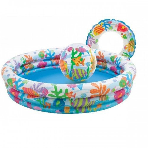 Intex Inflatable Pool With Ball And Tube Included