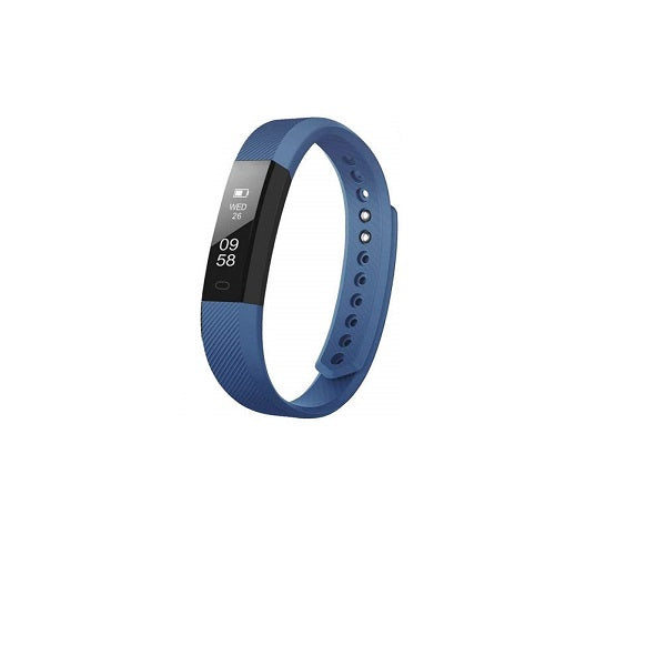 ID115 HR Smart Band with Heart Rate Monitor Multi Color