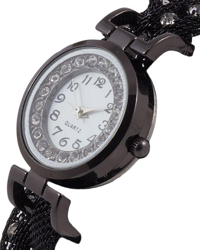 White Stainless Steel Watch For Girls