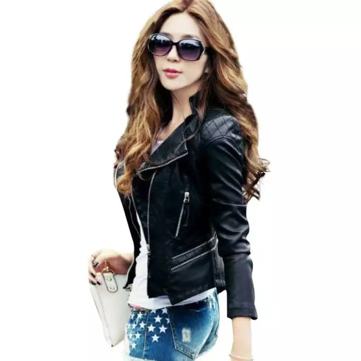 High Street Leather Jacket for Ladies