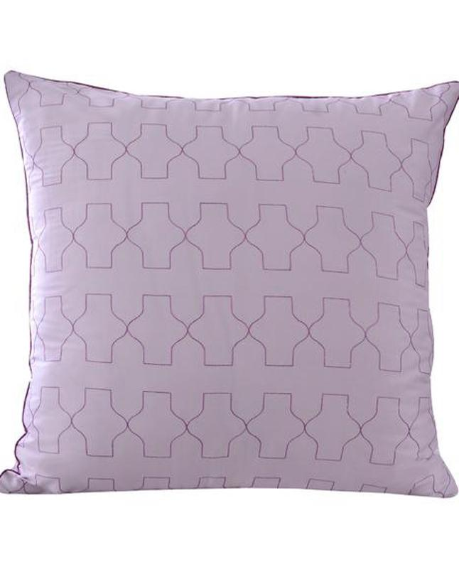 Square Cushion Cover Mauve