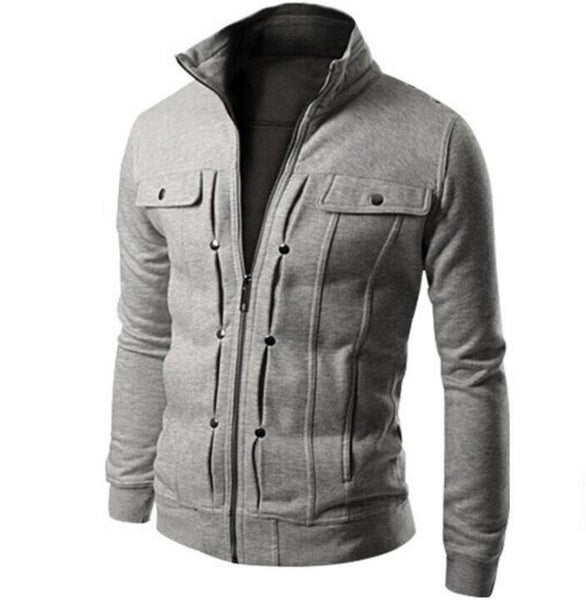 Multi Color Cotton Mexican Jacket with Front Pocket for Men
