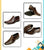 Dark Brown Stylish Shoes For Men