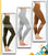 Pack Of 3 - Imported Stretchable Tights For Women