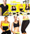 Imported Hot Shaperwear Pack of 3 - 1 Hot Belt + 1 Hot Shaper Trouser + 1 Hot Shaper Bras