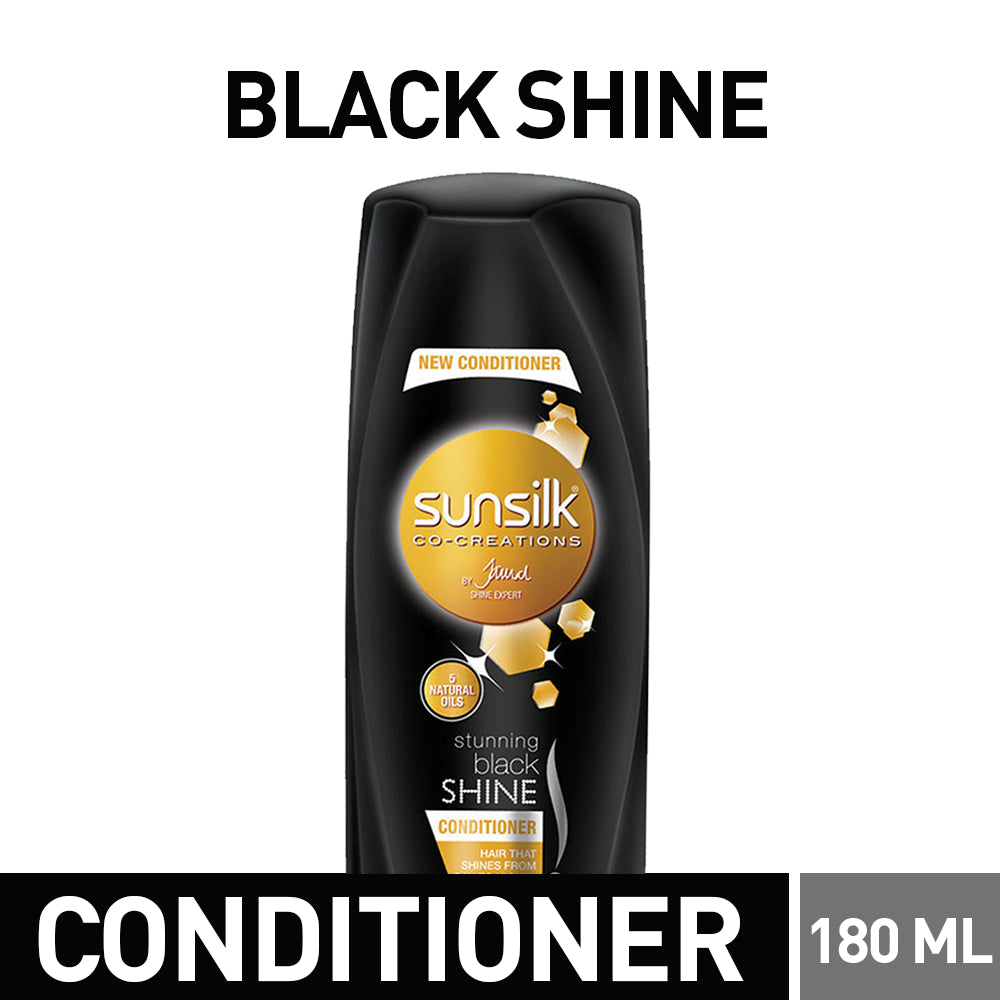 Sunsilk Black Shine Conditioner 180ml