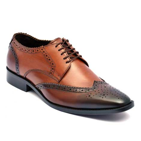 Brook oxford shoes two tone shaded leather JD 013