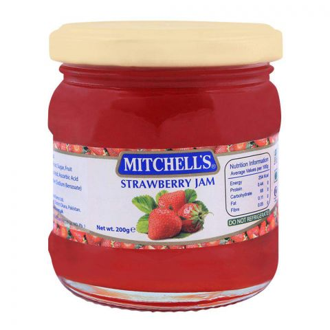 Mitchell's Strawberry Jam 200g