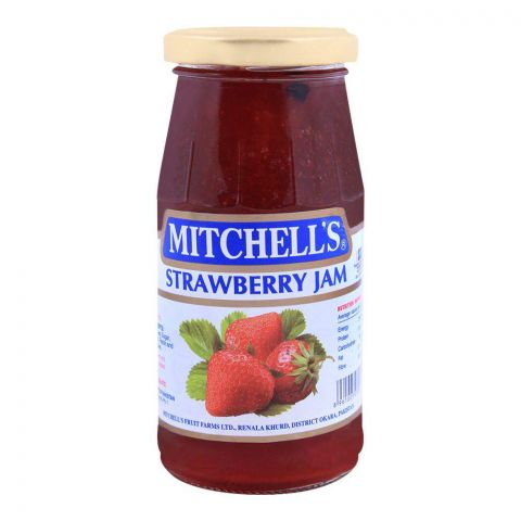 Mitchell's Strawberry Jam 340g