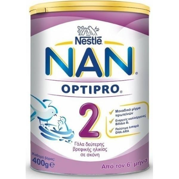 NESTLE NAN 2 -400g Tin