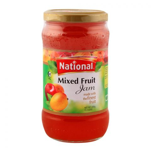 National Mixed Fruit Jam 440gm