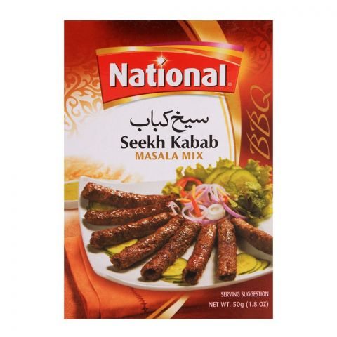 National Seekh Kabab Masala Mix 50gm