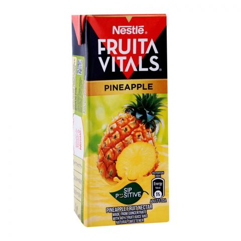 Nestle Fruita Vitals Pineapple Fruit Nectar 200ml