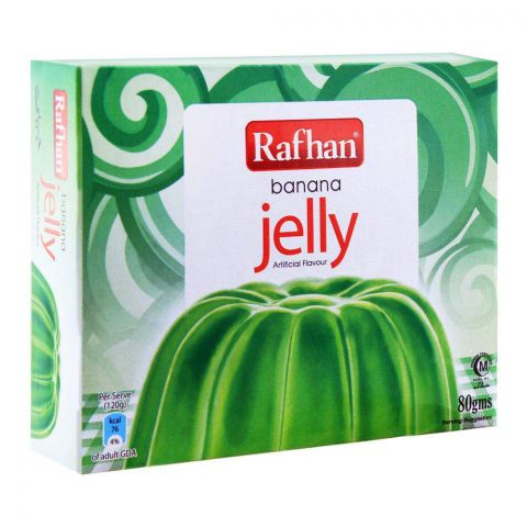 Rafhan Banana Jelly Powder 80g
