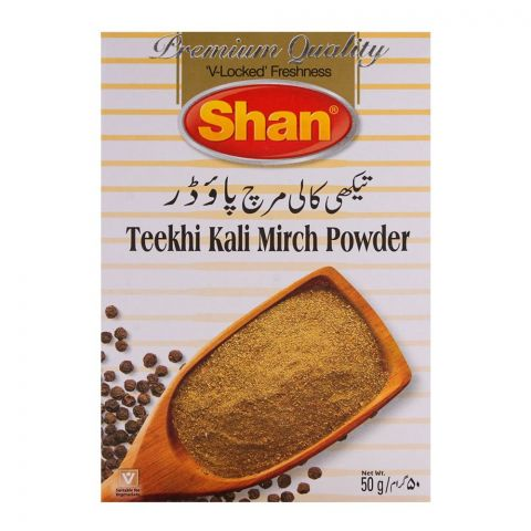 Shan Teekhi Kali Mirch Powder 50gm