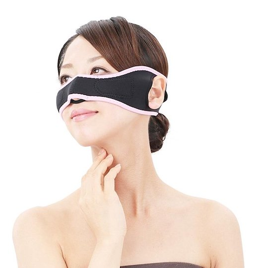 Cheeks And Nose Slimming Belt - Black