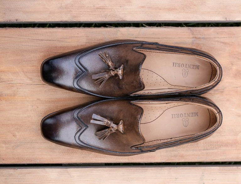 Loafer in Italian shaded finish JD 070