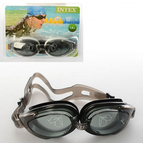 Intex Water Pro Adjustable Swimming Pool Sport Goggles