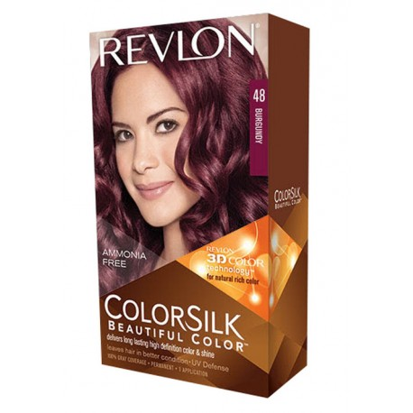 Revlon Color Silk Beautiful Color™ ,Burgundy ,48