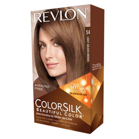 Revlon Color Silk Beautiful Color™ , Light Golden Brown , 54