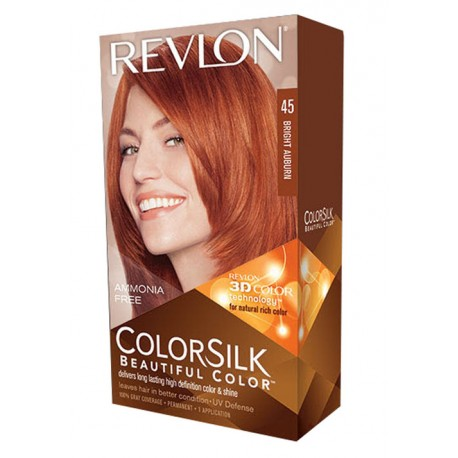 Revlon Color Silk Beautiful Color™ , Bright Auburn ,45