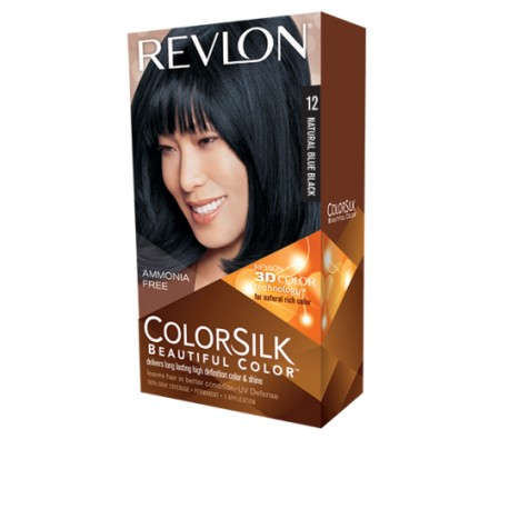 Revlon Color Silk Beautiful Color™ , Natural Blue Black , 12