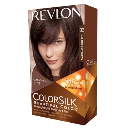 Revlon Color Silk Beautiful Color™ , Dark Mahogany Brown ,32