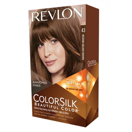 Revlon Color Silk Beautiful Color™ , Medium Golden Brown,43