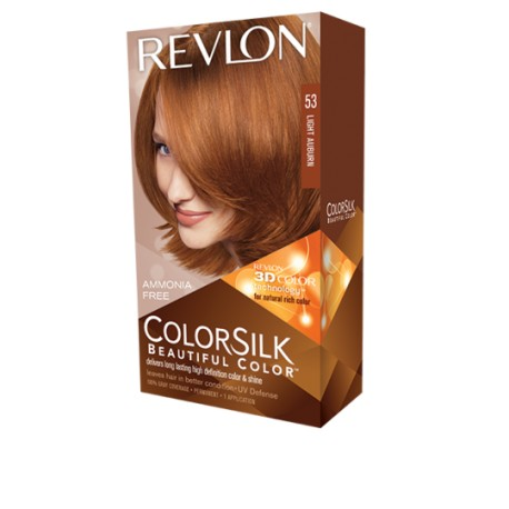 Revlon Color Silk Beautiful Color™ , Light Auburn , 53