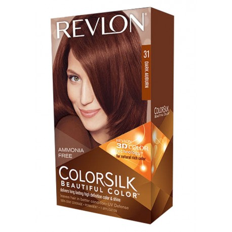 Revlon Color Silk Beautiful Color™ , Dark Auburn ,31