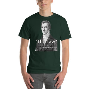 The law - Bastiat T-Shirt - Voice4liberty