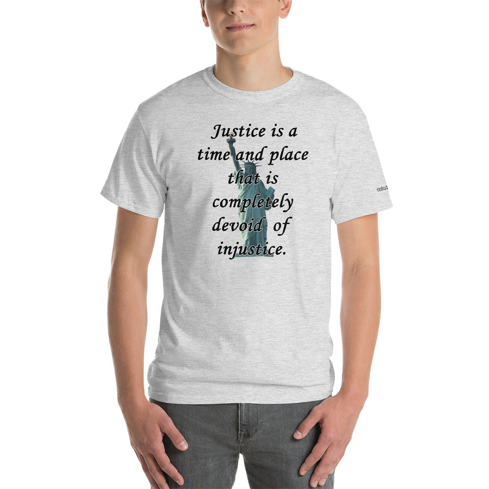 Justice or Injustice T-Shirt - Voice4liberty