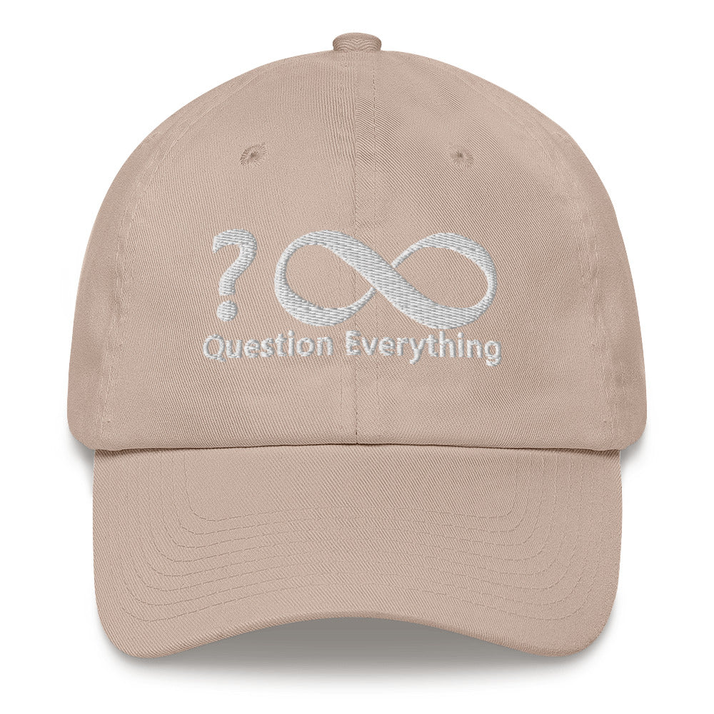 Question Everything Dad hat - Voice4liberty