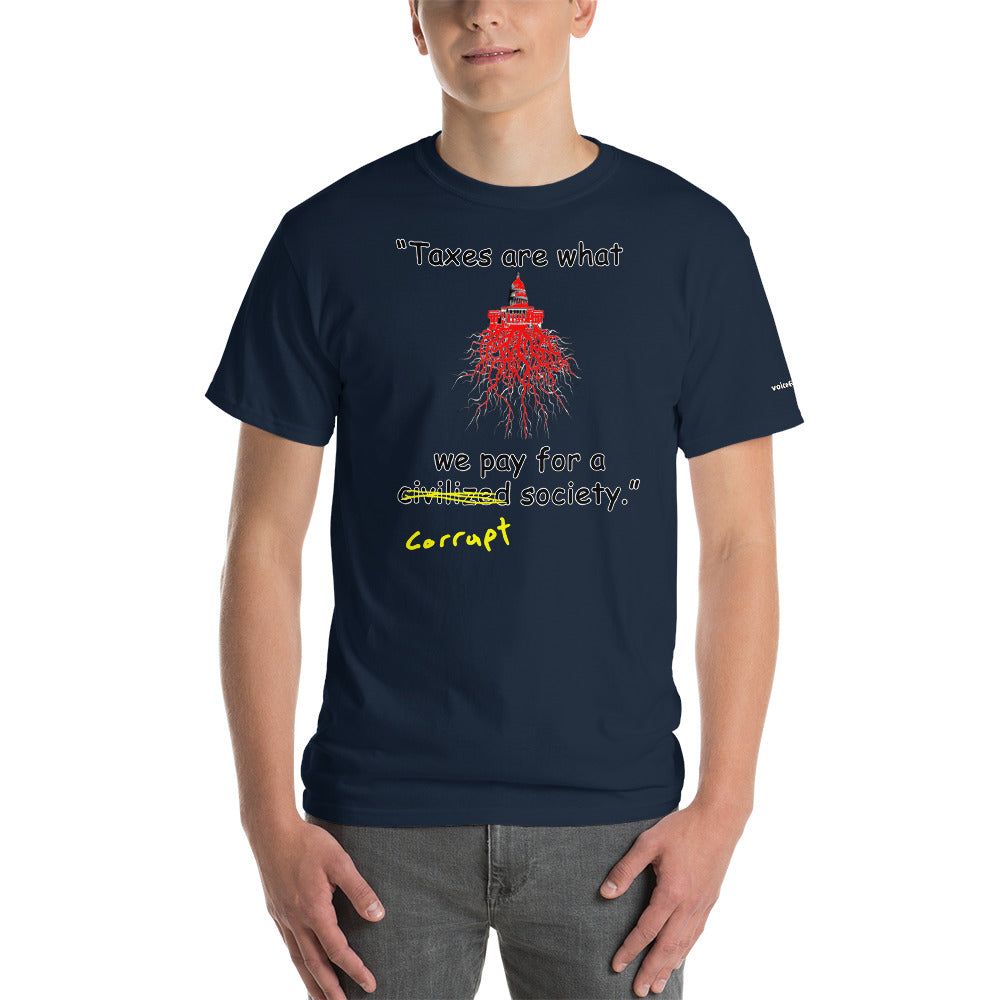 Corrupt Society T-Shirt - Voice4liberty