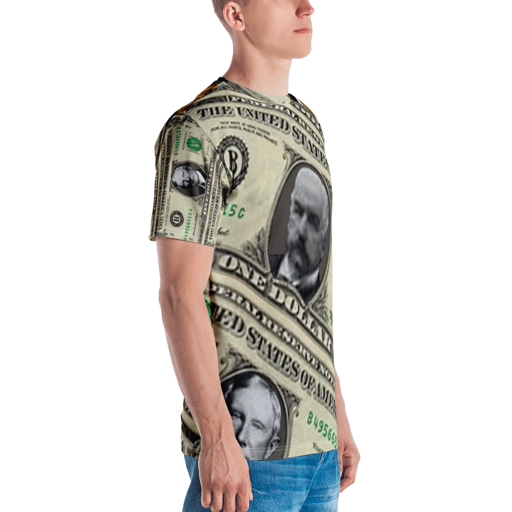 Banker's Dollar Men's T-shirt - Voice4liberty