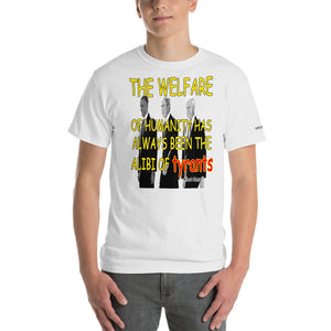 Camus Alibi of Tyrants Quote T-Shirt - Voice4liberty